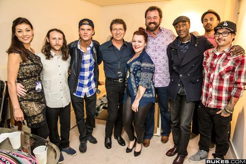 Avicii and fellow musicians