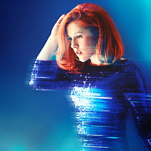 A promo photo from the new Katy B album Little Red
